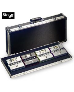 ABS Case for Guitar Effect Pedals STAGG UPC-424